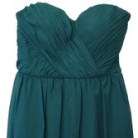 Adrianna Papell Dresses & Skirts - Adrianna Papell Teal Strapless Dress Jr 7/8  NWT